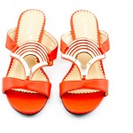 Adora AS002-2 Orange Women Dress Sandals 37 EU