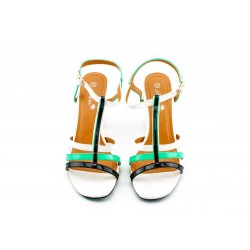 Adora AS003-1 Multicolor Women Dress Sandals 36 EU