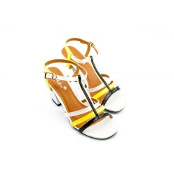 Adora AS003-2 Multicolor Women Dress Sandals 39 E