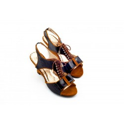 Adora AS008-2 Camel Women Dress Sandals 36 EU