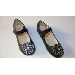 Adora AS021-1 Black Girls Dress Sandals 34 EU