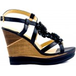 Adora AS040-1 Black Women Dress Sandals 36 EU