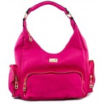 Adora AH005 Fushia PU Leather Handbag