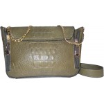 Adora AH009 Green PU Leather Handbag