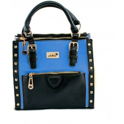 Adora AH016-3 Blue PU Leather Handbag