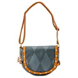 Adora AH021 Gray PU Leather Handbag