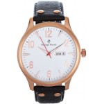 Philippe Moraly for Men - Analog Leather Band Watch - L1113RWO