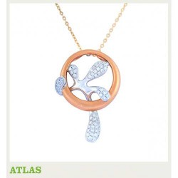ATLAS Jewellery Diamond Pendant KGPD 250