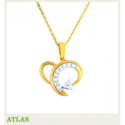 ATLAS Jewellery Diamond Pendant SHPE 001