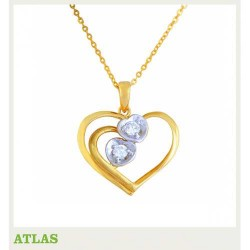ATLAS Jewellery Diamond Pendant SHPE 005