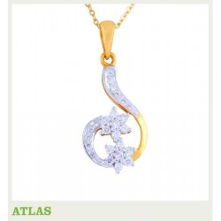 ATLAS Jewellery Diamond Pendant COPE 35213