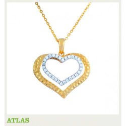 ATLAS Jewellery Diamond Pendant SHPE 082