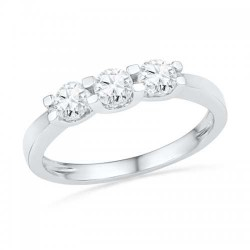 Palazo Jewellery 18K White Gold 0.32ct Diamond Ring