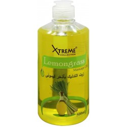 Xtreme Massage Oil 500Ml-Lemon Grass