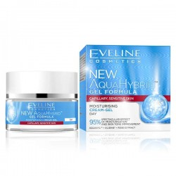 EVELINE NEW AQUA HYBRID MOISTURISING CREAM- GEL DAY 50ML
