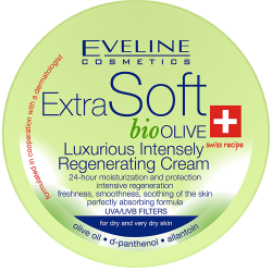EVELINE COSMETICS EXTRA SOFT BIO OLIVE LUXURIOUS INTENSELY REGENERATING CREAM