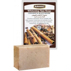 Argussy Cinnamon & Black Sesame Whitening Spa Soap